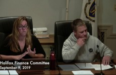 Halifax Finance Committee 2019/09/09