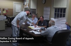 Halifax Zoning Board of Appeals 2019/09/09